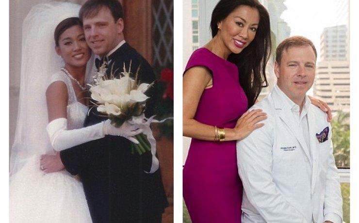 Пара поженилась в 1997 году и скоро отметит 20-летнюю годовщину свадьбы