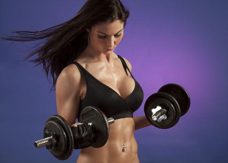 увеличение груди упражнениями