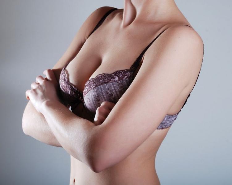 увеличение груди бельем