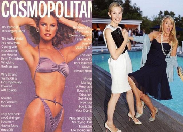 Кристи в 1977 году (слева) и 2015 году (справа)