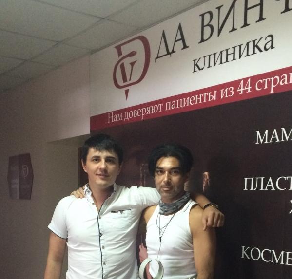 Пациент быстро подружился с русскими врачами