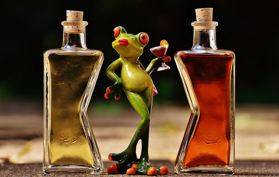 Алкоголь в любом виде опасен для кожи