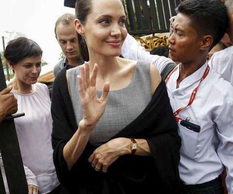 Вес Анджелины Джоли упал до опасной отметки в 34 килограмма