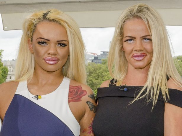 В Британии мать и дочь решили стать копиями Кэти Прайс