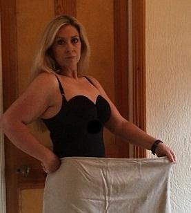 Британка укротила гормон голода и похудела вдвое